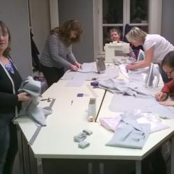 2017 Atelier couture animé par Claudine