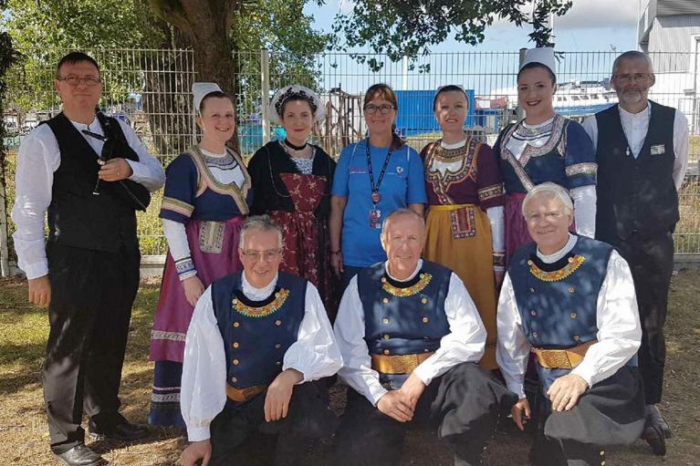 FIL 2017- La délégation des musiciens et danseurs du CCKB