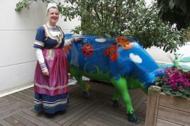 13022018 clotilde et vache bleue