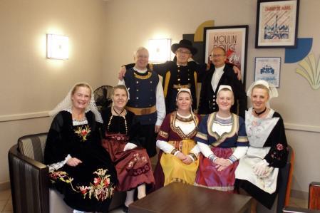Danseurs et danseuses de Koroll au Chesnay