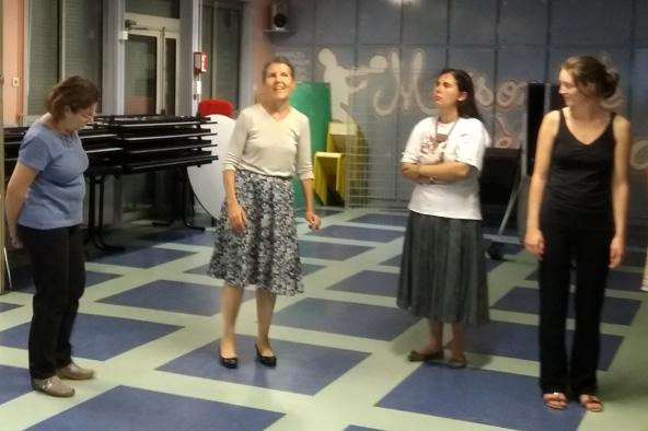 Atelier danses bretonnes pas de base avec soaz