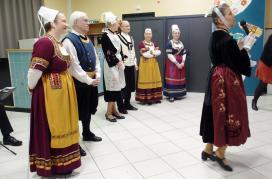 Brunoy soaz et la presentation des costumes
