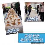 Galette 2019 avant apres