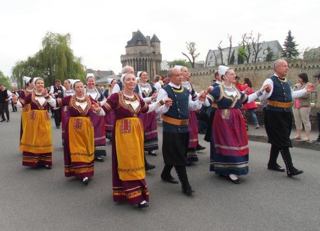 Koroll au défilé du Tradi'Deiz