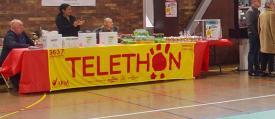 Journee du telethon association des commercants de savigny