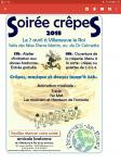 Kar soiree crepes