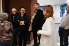Visite du maire au mini fest noz